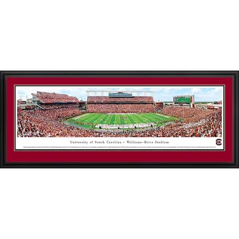 Blakeway Panoramas South Carolina Football Framed Print