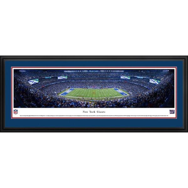 Blakeway Panoramas New York Giants '50 Yard Line' Framed NFL Print