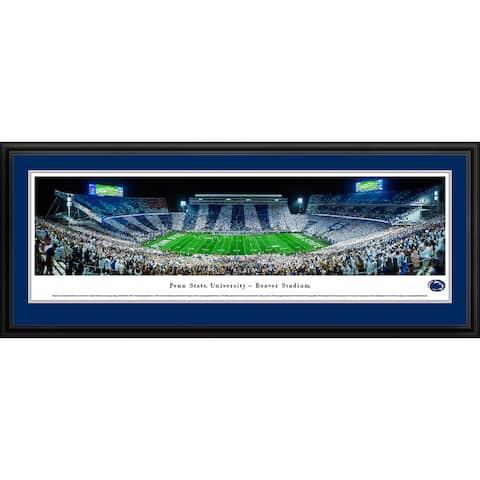 Blakeway Panoramas Penn State Football Framed Print