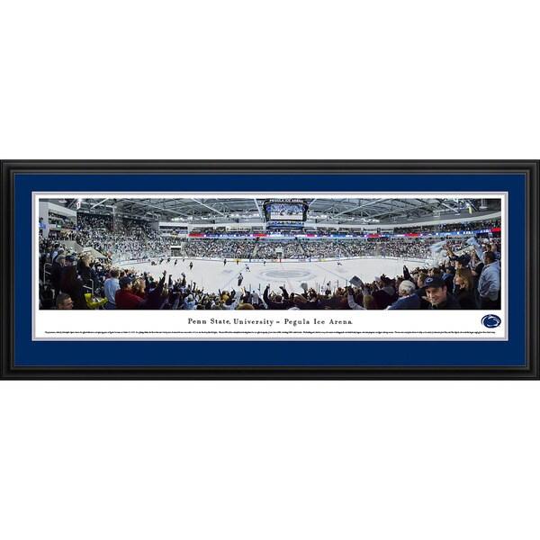 Blakeway Panoramas Penn State Hockey Framed Print
