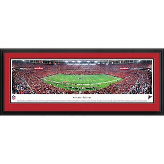 Blakeway Panoramas Atlanta Falcons '50 Yard Line' Framed NFL Print