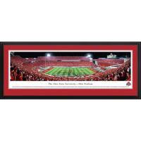 Blakeway Panoramas Ohio State Football Framed Print