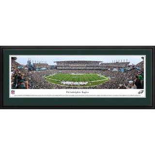 Blakeway Panoramas Philadelphia Eagles '50 Yard Line' Framed NFL Print