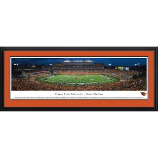 Blakeway Panoramas Oregon State Football 'Civil War' Framed Print