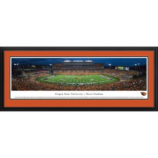 Blakeway Panoramas Oregon State Football 'Civil War' Framed Print (3 options available)