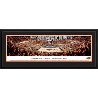 Blakeway Panoramas Oklahoma State Basketball Multicolored Framed Print (3 options available)