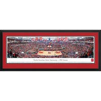 Blakeway Panoramas North Carolina State Basketball Framed Print
