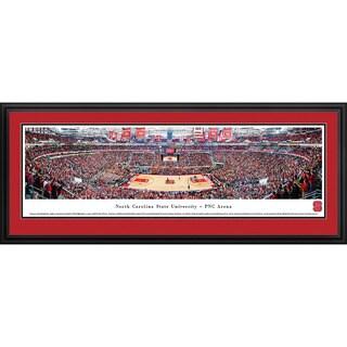 Blakeway Panoramas North Carolina State Basketball Framed Print