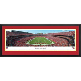 Blakeway Panoramas Kansas City Chiefs 'End Zone' Framed NFL Print