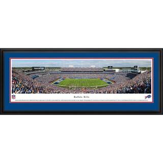 Blakeway Panoramas Buffalo Bills 50-yard Line NFL Framed Print