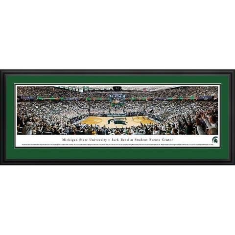 Blakeway Panoramas Michigan State Basketball Framed Print