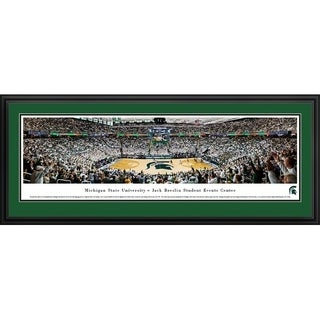 Blakeway Panoramas 'Michigan State Basketball' Framed Print