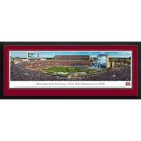 Mississippi State Football Blakeway Panoramas Framed Print