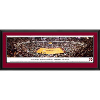 Blakeway Panoramas Mississippi State Basketball Framed Print (3 options available)