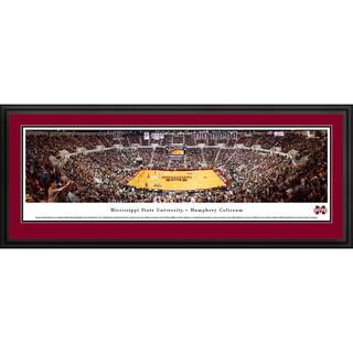 Blakeway Panoramas Mississippi State Basketball Framed Print