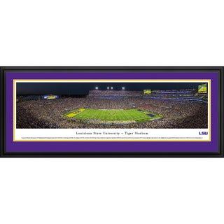 Blakeway Panoramas 'Louisiana State University Football' Framed Print