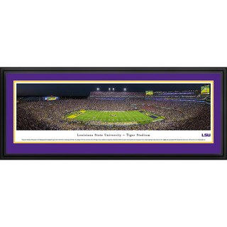 Blakeway Panoramas 'Louisiana State University Football' Framed Print (3 options available)