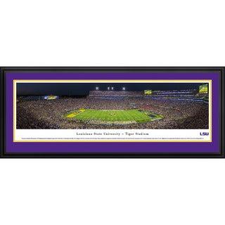 Blakeway Panoramas 'Louisiana State University Football' Framed Print