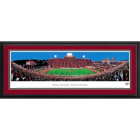 Blakeway Panoramas Indiana Football Framed Print