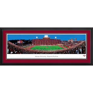 Blakeway Panoramas Indiana Football Framed Print