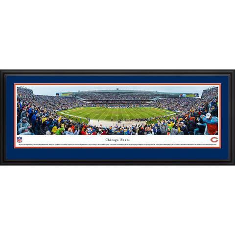 Blakeway Panoramas NFL Chicago Bears Framed Print