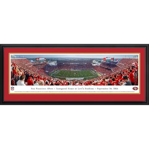 Blakeway Panoramas San Francisco 49ers Framed Print