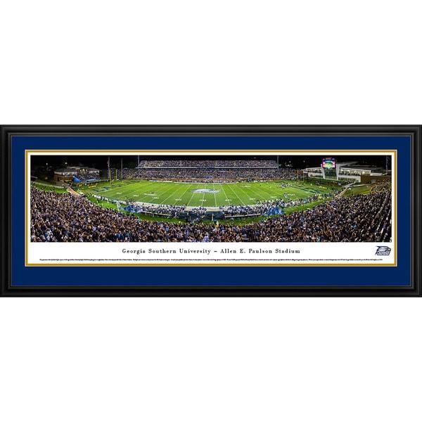 Blakeway Panoramas 'Georgia Southern Football' Framed Print