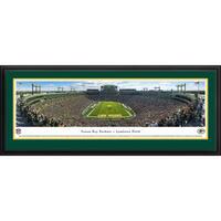 Blakeway Panoramas Green Bay Packers 'End Zone at Lambeau Field' Framed NFL Print