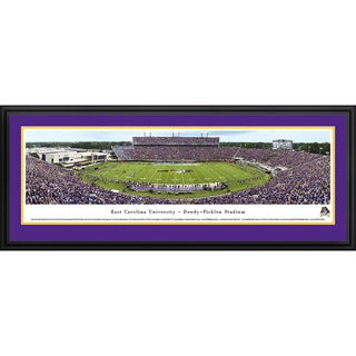 Blakeway Panoramas East Carolina University Football Framed Print