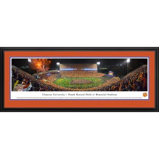 Blakeway Panoramas 'Clemson Football vs Notre Dame' Framed Print