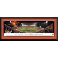 Blakeway Panoramas 'Clemson Football vs Notre Dame' Framed Print