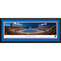Blakeway Panoramas Boise State Football End Zone Framed Print