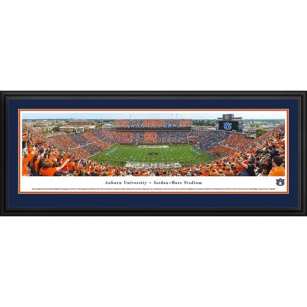 Blakeway Panoramas 'Stripe The Stadium' Auburn Football Framed Print