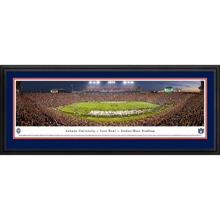 Blakeway Panoramas 'Auburn Football 50-Yard Line' Framed Print