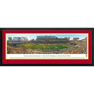 Blakeway Panoramas Arizona State Football '50 Yard Line' Framed Print