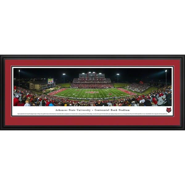 Blakeway Panoramas 'Arkansas State Football' Framed Print