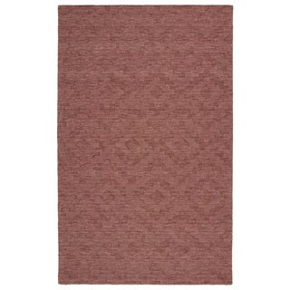 Trends Rose Phoenix Wool Rug (8' x 11')