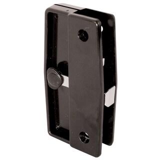 Prime Line A139 Black Plastic Sliding Screen Door Latch & Pull