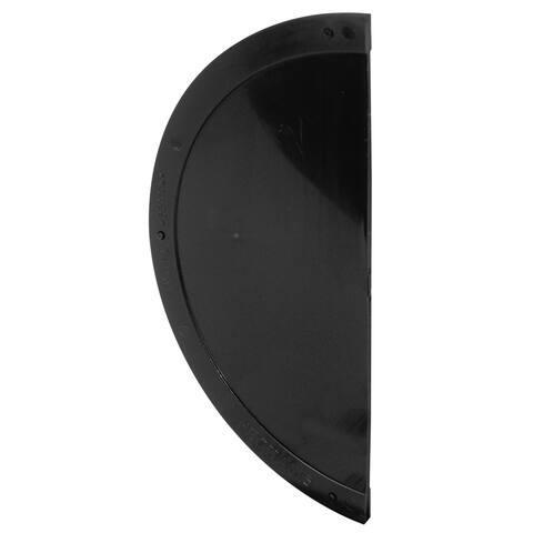 Prime Line A141 Black Plastic Screen Door Shield
