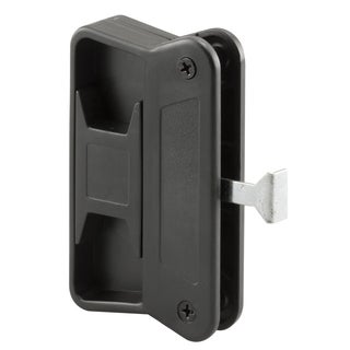 Prime Line A168 Black Plastic Sliding Screen Door Handle