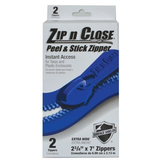 """Surface Shileds ZC02 2-count 3"""" X 7' Zip N Close Doorway System"""