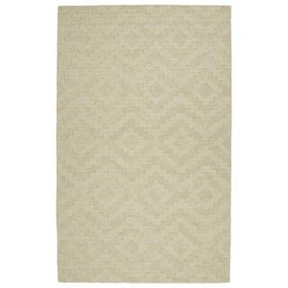 Trends Sand Phoenix Wool Rug (5'0 x 8'0)