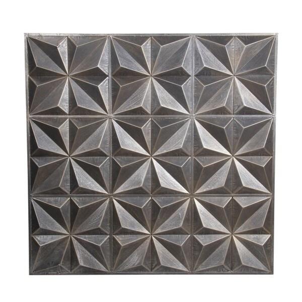 Silver Metal Wall Decor privilege international silver metal wall decor - free shipping