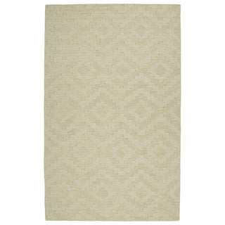 Trends Sand Phoenix Wool Rug (8'0 x 11'0)