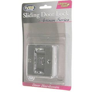 Ives SC991B-619 Satin Nickel Artisan Sliding Door Lock