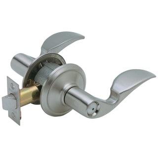 Schlage F40VAVA619 Satin Nickel Artisan Series Privacy Lever
