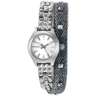Diesel Women's DZ5446 'Kray Kray' Stainless steel and Leather Watch