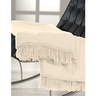 IBENA Sorrento Fringe Throw