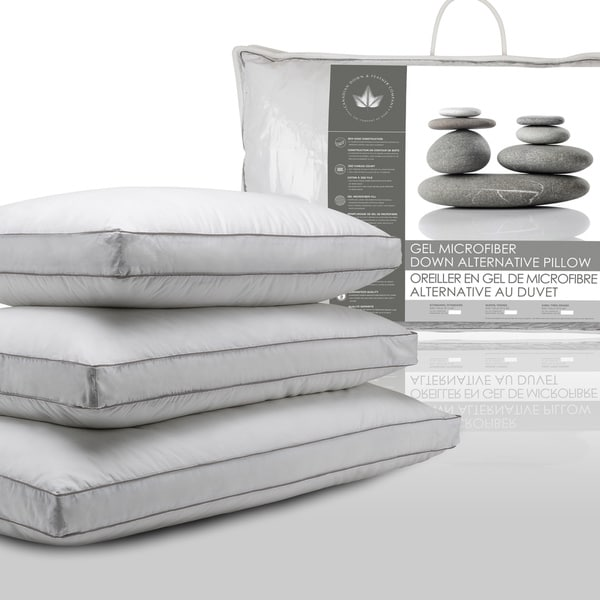 Canadian Down and Feather Comapny Gel Microfiber Down Alternative Pillow
