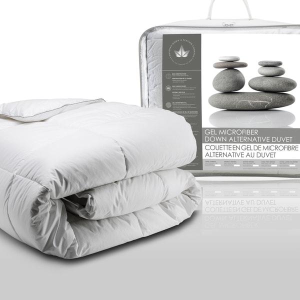 Canadian Down & Feather Gel Microfiber Down Alternative Comforter